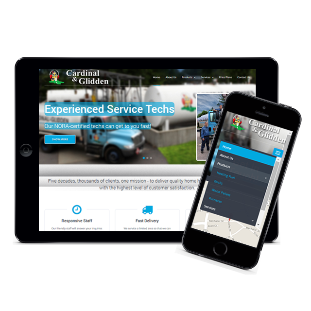 Image of Cardinal & Glidden Responsive Website